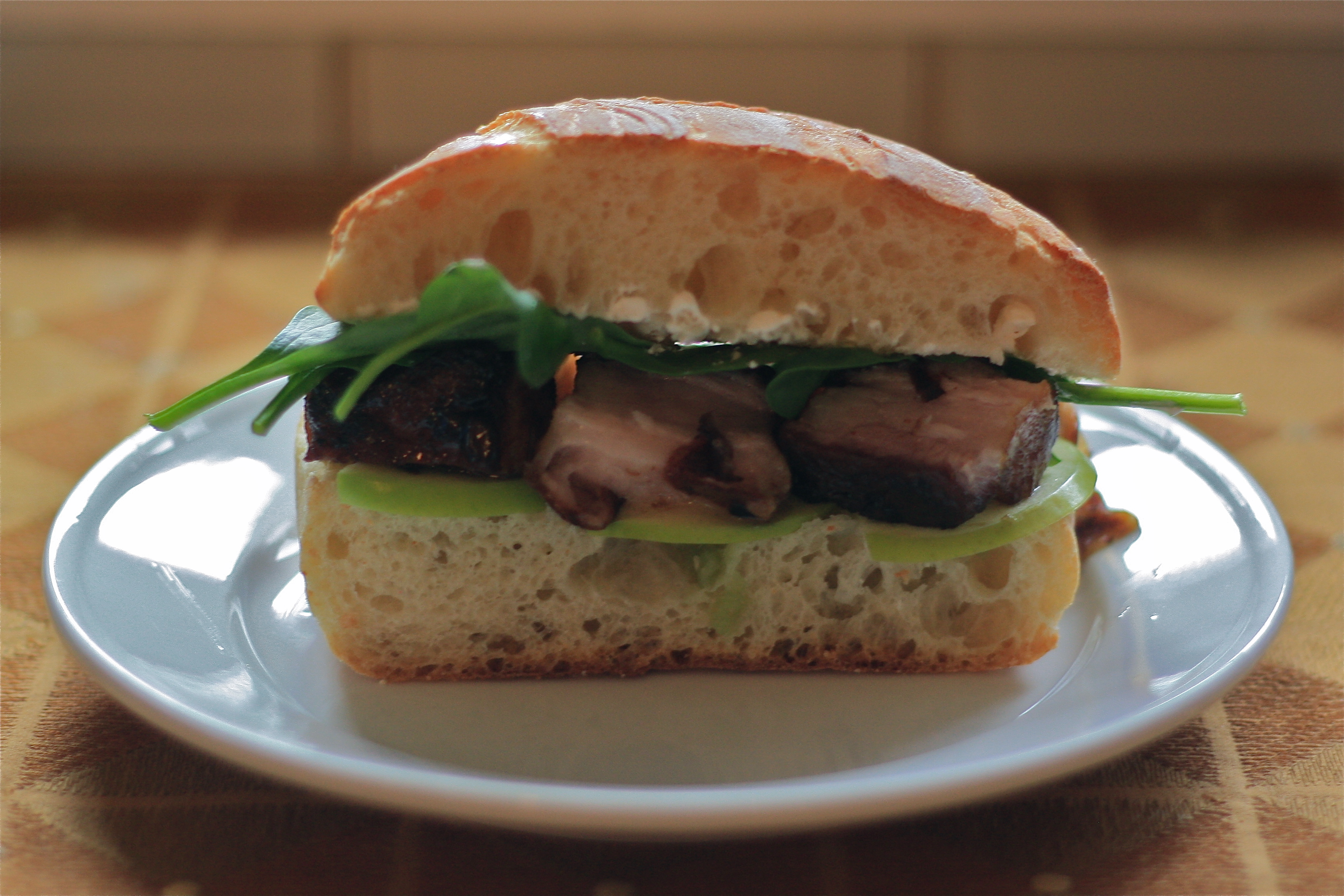 Braised pork sandwich recipe