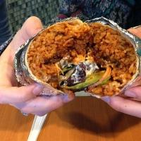 Spicy Pork Burrito from Seoul Taco